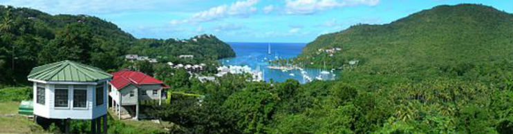 st lucia flights