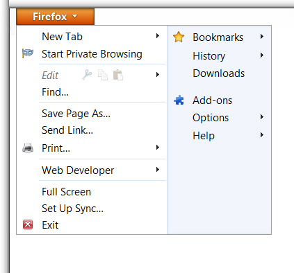 Enabling Cookies in Mozilla Firefox 4.0